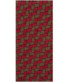 RugStudio presents Chandra Deco DEC9101 Red/Brown Woven Area Rug