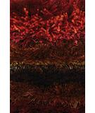 RugStudio presents Chandra Delight DEL14803 Garnet Red Woven Area Rug