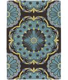 RugStudio presents Chandra Dharma DHA7535 Blue Hand-Tufted, Good Quality Area Rug