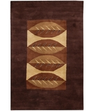 RugStudio presents Chandra Dream DRE3109 Dark Brown Hand-Tufted, Good Quality Area Rug