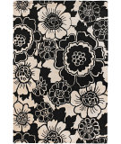 RugStudio presents Chandra Faro FAR6202 Black Hand-Tufted, Good Quality Area Rug