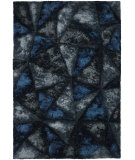 RugStudio presents Chandra Flemish Fle51111 Blue/Grey Woven Area Rug
