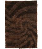 RugStudio presents Chandra Fola FOL10600 Brown Area Rug