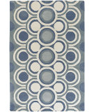RugStudio presents Rugstudio Sample Sale 40969R Blue Hand-Tufted, Good Quality Area Rug