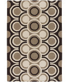 RugStudio presents Chandra Fresca FRE4530 Brown Hand-Tufted, Good Quality Area Rug