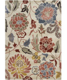 RugStudio presents Chandra Gagan GAG-39500 Cream Hand-Tufted, Good Quality Area Rug