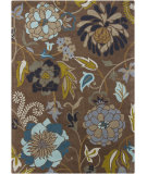 RugStudio presents Chandra Gagan GAG-39502 Brown Hand-Tufted, Good Quality Area Rug