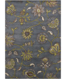 RugStudio presents Chandra Gagan GAG-39505 Smokey Blue Hand-Tufted, Good Quality Area Rug