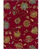 RugStudio presents Chandra Gagan GAG-39507 Deep Red Hand-Tufted, Good Quality Area Rug