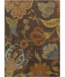 RugStudio presents Chandra Gagan GAG-39508 Brown Hand-Tufted, Good Quality Area Rug