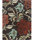 RugStudio presents Chandra Gagan GAG-39510 Chocolate Hand-Tufted, Good Quality Area Rug