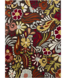 RugStudio presents Chandra Gagan GAG-39511 Dark Brown Hand-Tufted, Good Quality Area Rug