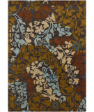 RugStudio presents Chandra Gagan GAG-39512 Charcoal Hand-Tufted, Good Quality Area Rug