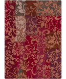 RugStudio presents Chandra Gagan GAG-39515 Red Hand-Tufted, Good Quality Area Rug