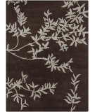 RugStudio presents Chandra Gagan GAG-39517 Charcoal Hand-Tufted, Good Quality Area Rug