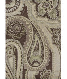 RugStudio presents Chandra Gagan GAG-39521 Brown Hand-Tufted, Good Quality Area Rug