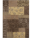 RugStudio presents Chandra Gagan GAG-39524 Brown/Multi Hand-Tufted, Good Quality Area Rug