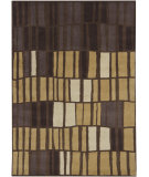 RugStudio presents Chandra Gagan GAG-39530 Chocolate/Multi Hand-Tufted, Good Quality Area Rug