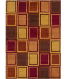 RugStudio presents Chandra Gagan GAG-39536 Red/Multi Hand-Tufted, Good Quality Area Rug
