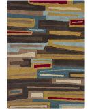 RugStudio presents Chandra Gagan GAG-39538 Multi Hand-Tufted, Good Quality Area Rug