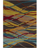 RugStudio presents Chandra Gagan GAG-39543 Multi Hand-Tufted, Good Quality Area Rug