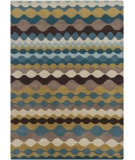 RugStudio presents Chandra Gagan GAG-39545 Multi Hand-Tufted, Good Quality Area Rug