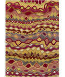 RugStudio presents Chandra Gagan GAG-39550 Multi Hand-Tufted, Good Quality Area Rug