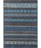 RugStudio presents Chandra Gagan GAG-39555 Dark Grey Hand-Tufted, Good Quality Area Rug