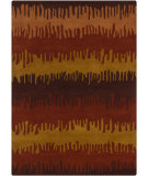 RugStudio presents Chandra Gagan GAG-39558 Multi Hand-Tufted, Good Quality Area Rug