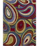 RugStudio presents Chandra Gagan GAG-39563 Multi Hand-Tufted, Good Quality Area Rug