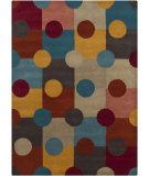 RugStudio presents Chandra Gagan GAG-39567 Multi Hand-Tufted, Good Quality Area Rug