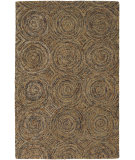 RugStudio presents Chandra Galaxy GAL30600 Brown Hand-Tufted, Good Quality Area Rug