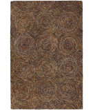 RugStudio presents Chandra Galaxy GAL30601 Chocolate Hand-Tufted, Good Quality Area Rug