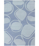 RugStudio presents Chandra Inhabit Inh21605 Blue Hand-Tufted, Good Quality Area Rug