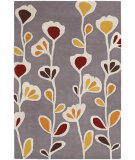 RugStudio presents Chandra Inhabit Inh21609 Grey Hand-Tufted, Good Quality Area Rug