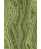 RugStudio presents Chandra Inhabit Inh21617 Green Hand-Tufted, Good Quality Area Rug