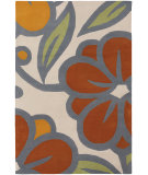 RugStudio presents Chandra Inhabit Inh21625 Off white Hand-Tufted, Good Quality Area Rug