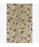 RugStudio presents Chandra Int INT-13400 Beige Hand-Tufted, Good Quality Area Rug
