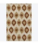 RugStudio presents Chandra Int INT-13403 Tan Hand-Tufted, Good Quality Area Rug
