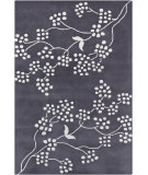 RugStudio presents Chandra Int INT-13410 Blue Hand-Tufted, Good Quality Area Rug
