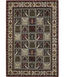 RugStudio presents Chandra Int INT-13420 Burgundy Hand-Tufted, Good Quality Area Rug