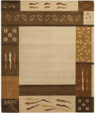 RugStudio presents Chandra Int INT-13430 Beige Hand-Tufted, Good Quality Area Rug