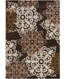 RugStudio presents Chandra Int INT-13453 Brown Hand-Tufted, Good Quality Area Rug