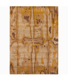 RugStudio presents Chandra Int INT-13454 Tan Hand-Tufted, Good Quality Area Rug