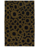 RugStudio presents Chandra Int INT-13459 Black / Taupe Hand-Tufted, Good Quality Area Rug