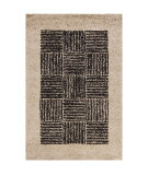 RugStudio presents Chandra Int INT-13470 Beige Hand-Tufted, Good Quality Area Rug