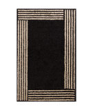 RugStudio presents Chandra Int INT-13471 Black Hand-Tufted, Good Quality Area Rug
