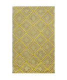 RugStudio presents Chandra Int INT-13472 Green Hand-Tufted, Good Quality Area Rug
