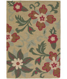 RugStudio presents Chandra Int INT-13478 Light Green Hand-Tufted, Good Quality Area Rug