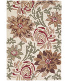 RugStudio presents Chandra Int INT-13479 Ivory Hand-Tufted, Good Quality Area Rug